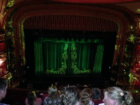 Stage for Shrek the Musical