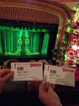 Stage and tickets for Shrek the Musical