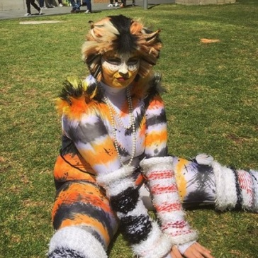 @cararose as Rumpelteazer from Cats