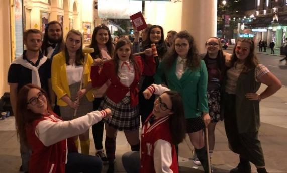 Heathers - Whle Cast - Pagen Hall and Friends
