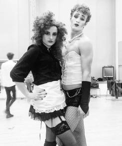 Rocky Horror Show - Magenta and FrankNFurther - Alice Gulliver and Friend