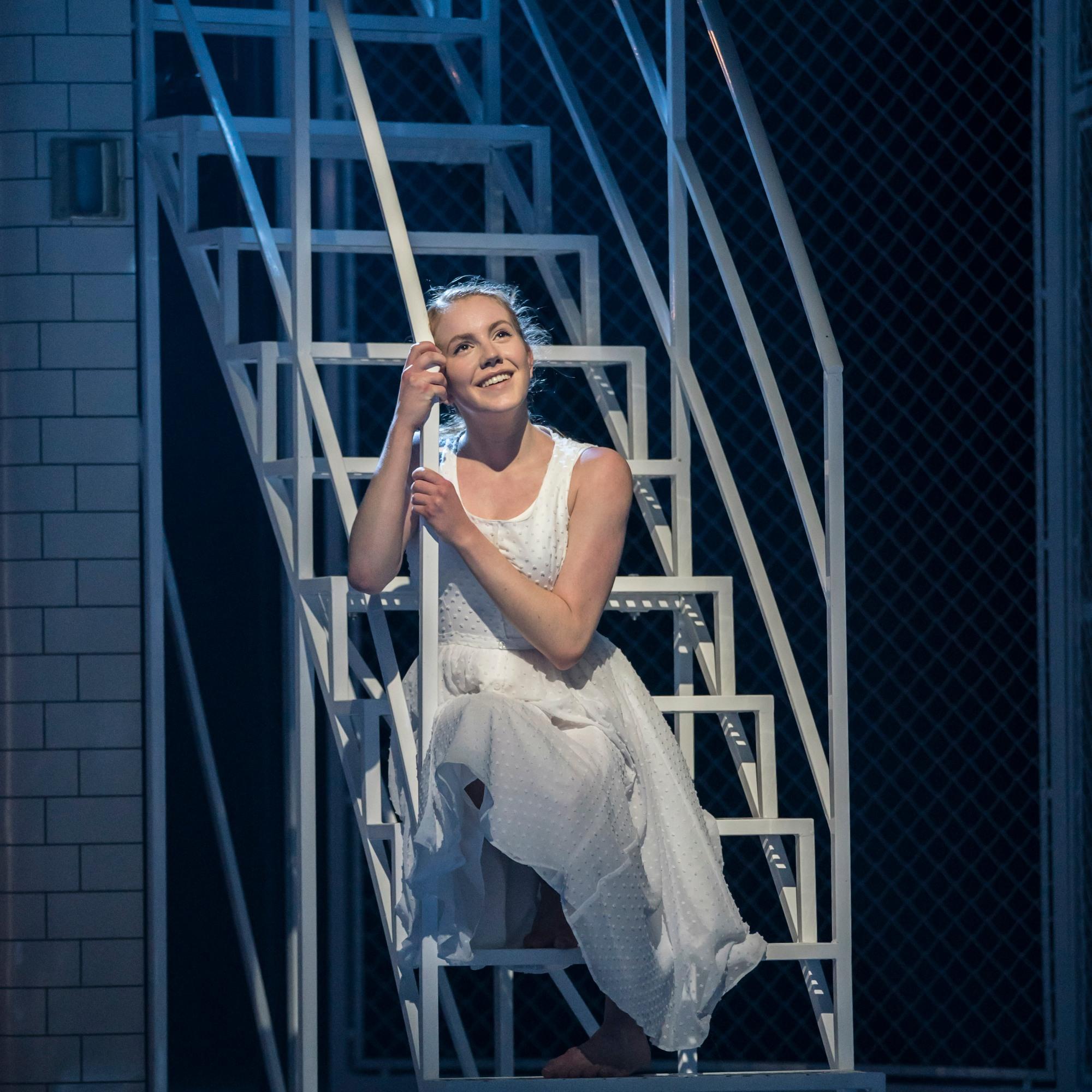 Seren Williams in Matthew Bourne's Romeo and Juliet Credit: Johan Persson