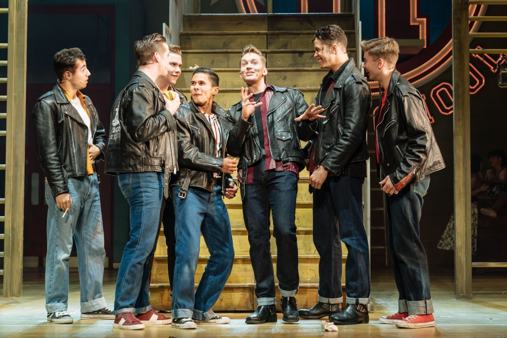 Dan Partridge, Louis Gant and the UK Tour of Grease